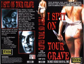 I Spit on Your Grave - Sleeve/Cover