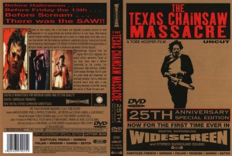 The Texas Chain Saw Massacre - Sleeve/Cover
