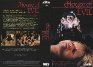 House of Evil - Sleeve/Cover